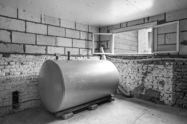 Heizölanlage im Keller
